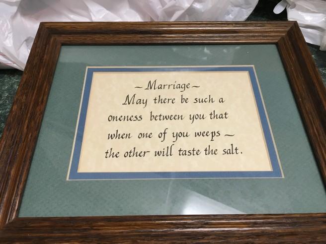 marriage original